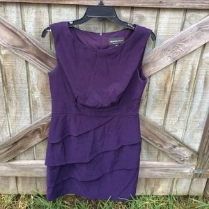 Connected Purple Dress